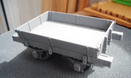 O gauge Ballast wagon