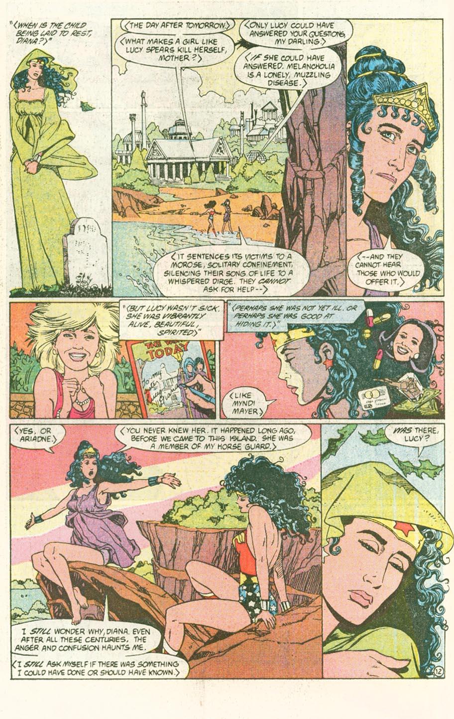 Read online Wonder Woman (1987) comic -  Issue #46 - 13
