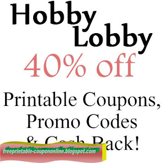 Hobby lobby coupon 2019