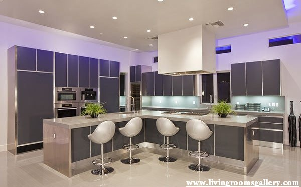 25 false ceiling designs for kitchen bedroom and dining for Pop design for kitchen