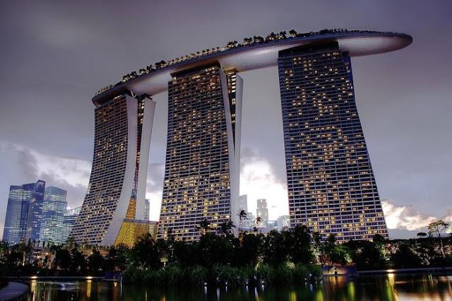 Khu nghỉ dưỡng Marina Bay Sands