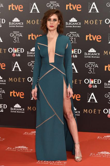 Peor vestidas Goya 2017