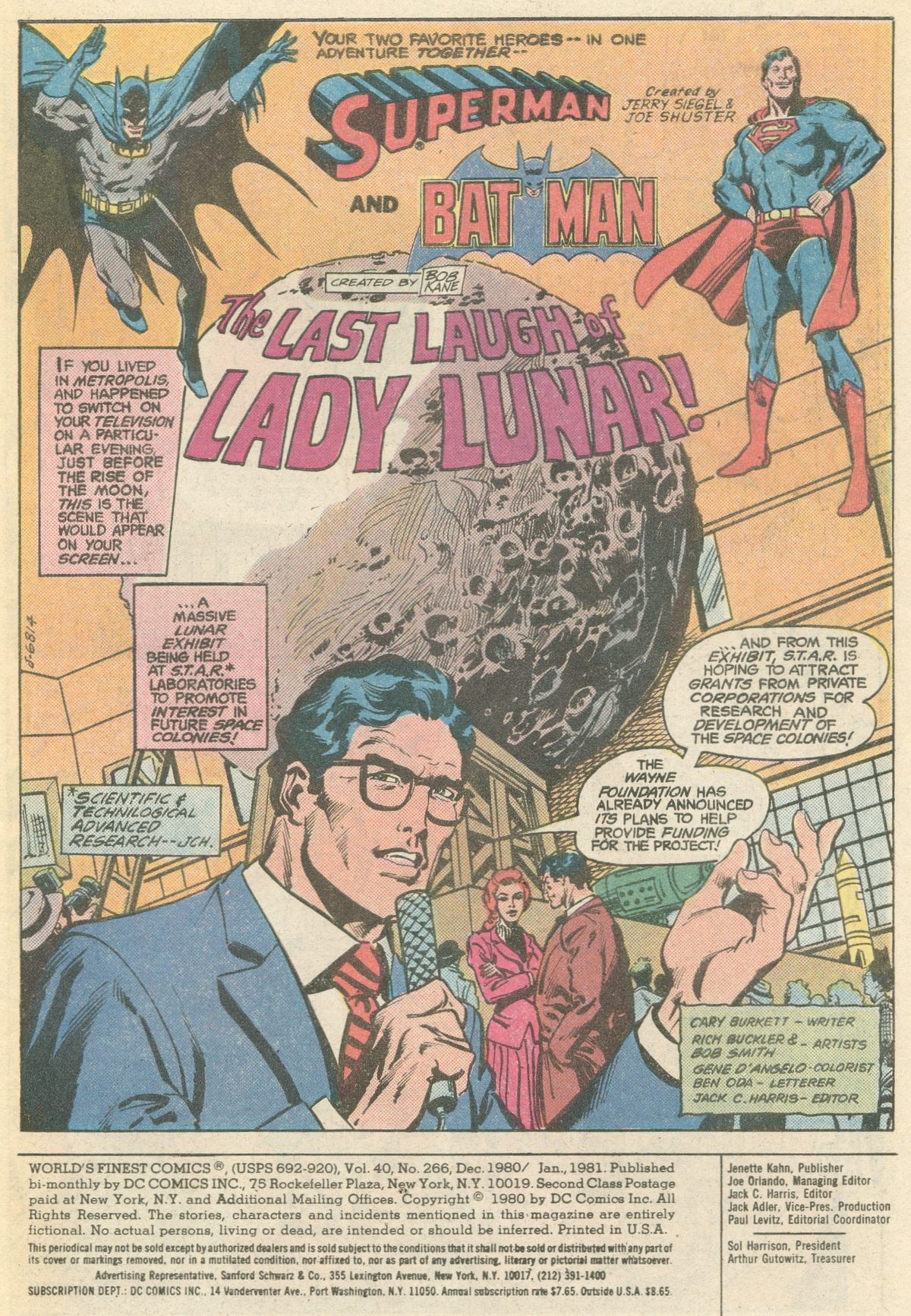 Read online World's Finest Comics comic -  Issue #266 - 3
