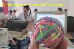 Pengertian dan Langkah-Langkah Model Pembelajaran Snowball Throwing