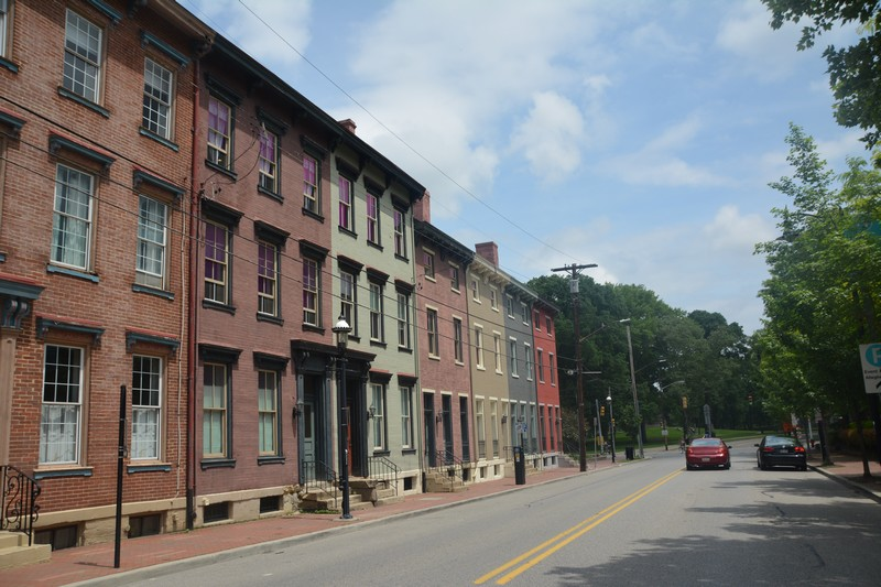 Maisons colorées Pittsburgh