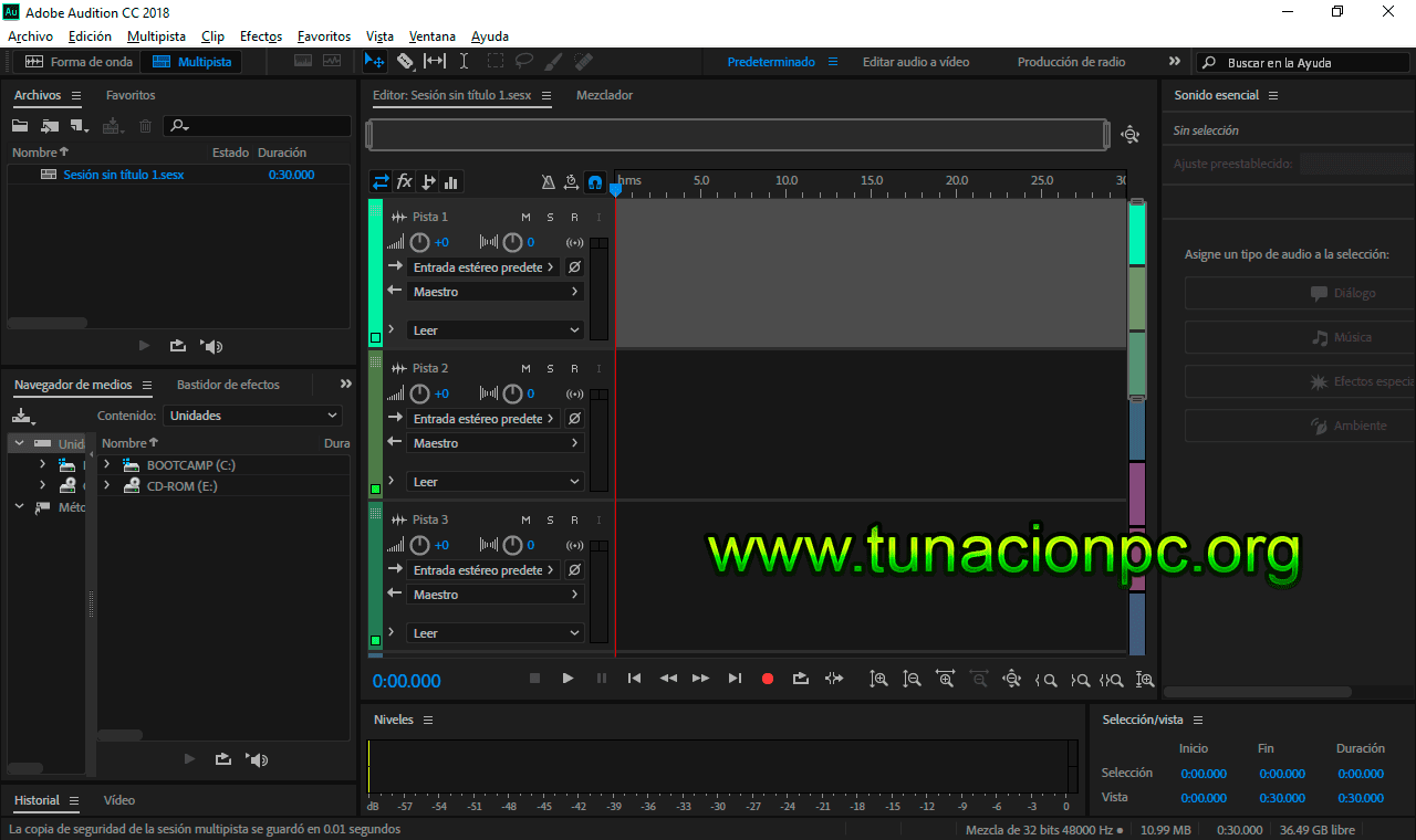 Descargar Adobe Audition CC 2018 Full Español
