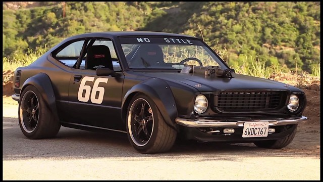 Modified Toyota Corolla Year 1975 Becomes Muscle Car