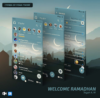 Welcome Ramdan Theme For C-YOWhatsApp Download By Teguh A.W