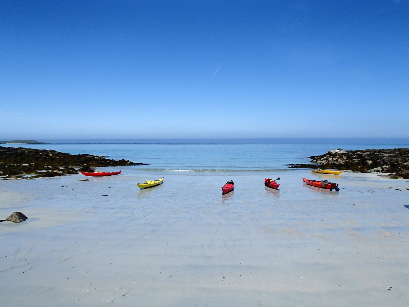 Clearwater Paddeling in Barra  by Cal McTravel of www.CalMcTraves.com