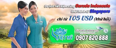 Đi khắp nơi cùng khuyến mãi giá rẻ của Garuda Indonesia