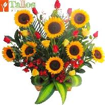 Flor Y Color Flores Para Desear Un Feliz Cumpleaños