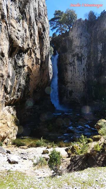 Cascada Órganos, Nacimiento río Borosa, Pontones, Sierra de Cazorla, Jaén, Andalucía