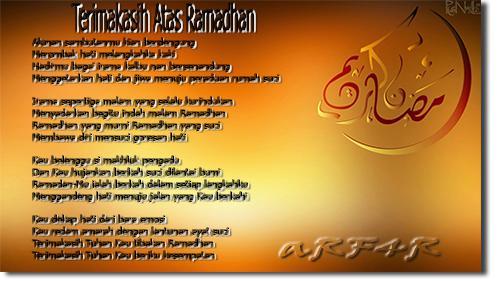 Kumpulan Puisi Bulan Ramadhan 2016