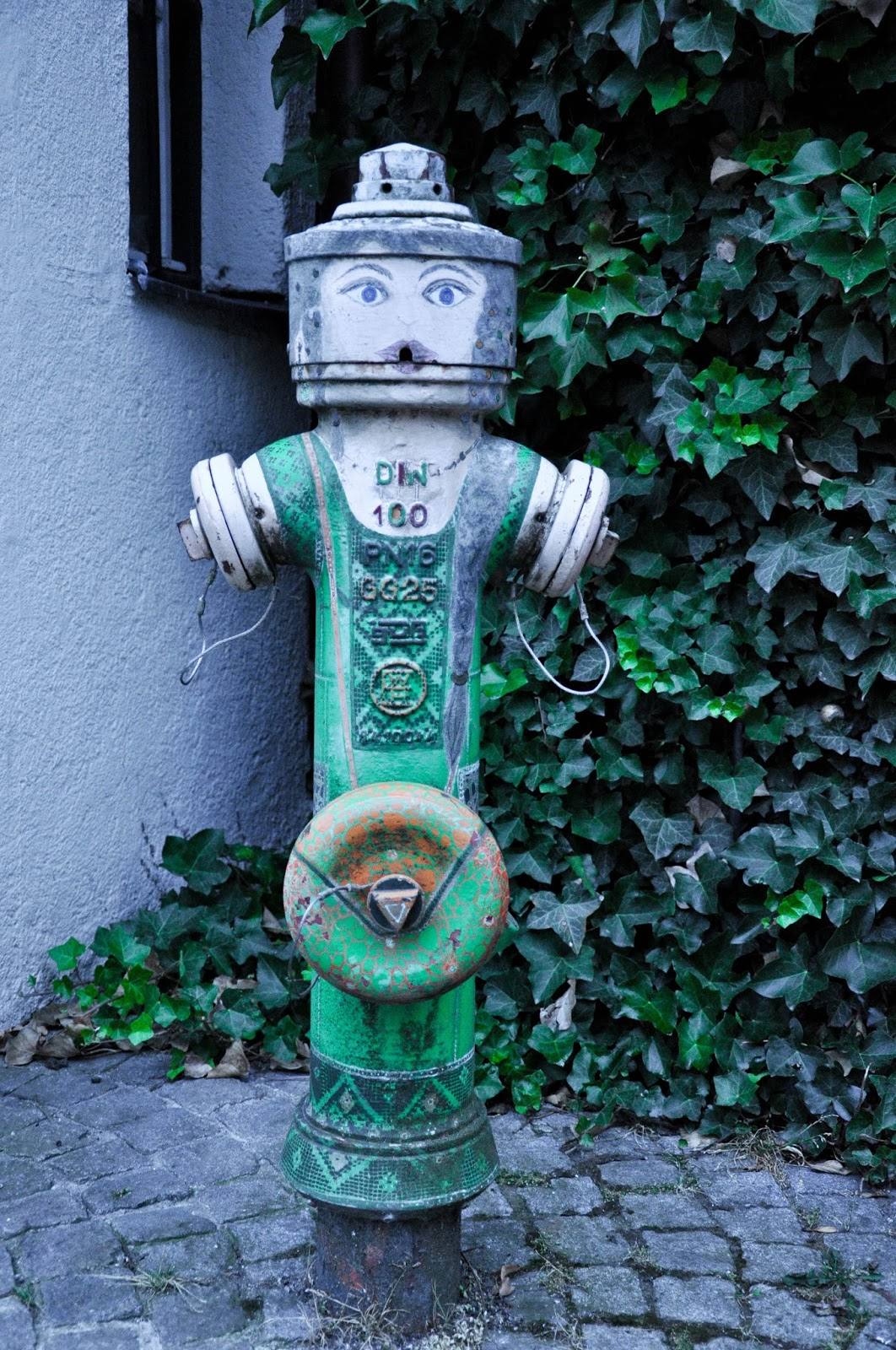 Water hydrant, Kaufbeuren, Bavaria, Germany