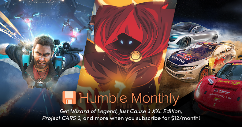 January 2019 Humble Monthly