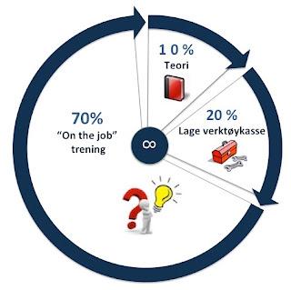 Mengenal Teori (70/20/10) Untuk Karyawan/Karyawati disebuah Perusahaan