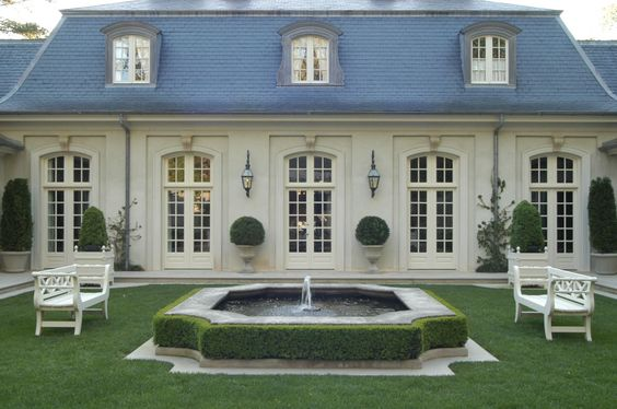 Peonies And Orange Blossoms French Style Houses Part 2