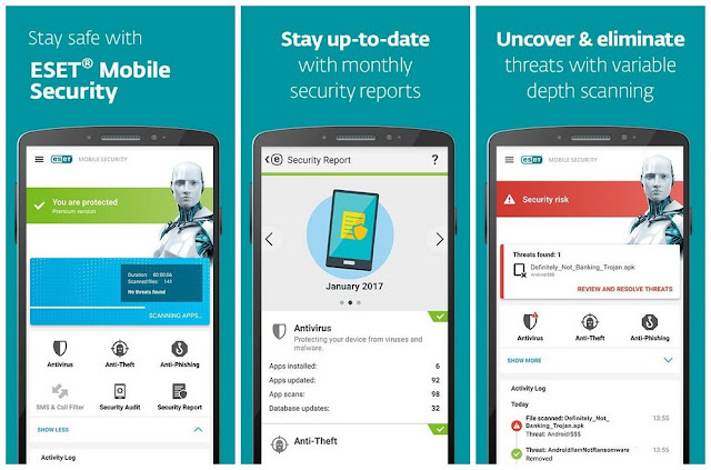 ESET Mobile Security Premium Apk Free Downlaod