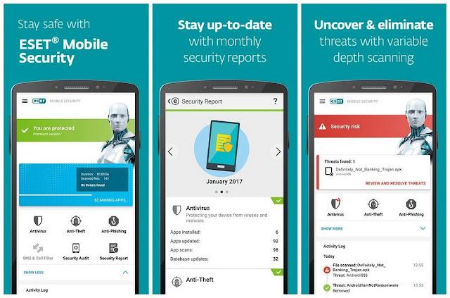 ESET Mobile Security Premium Apk Free Downlaod