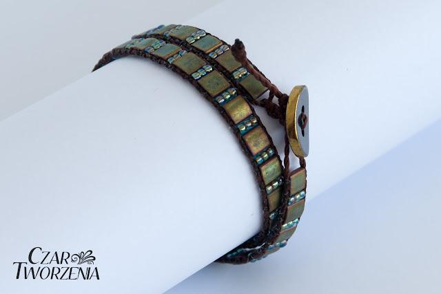 ręcznie wykonana bransoletka