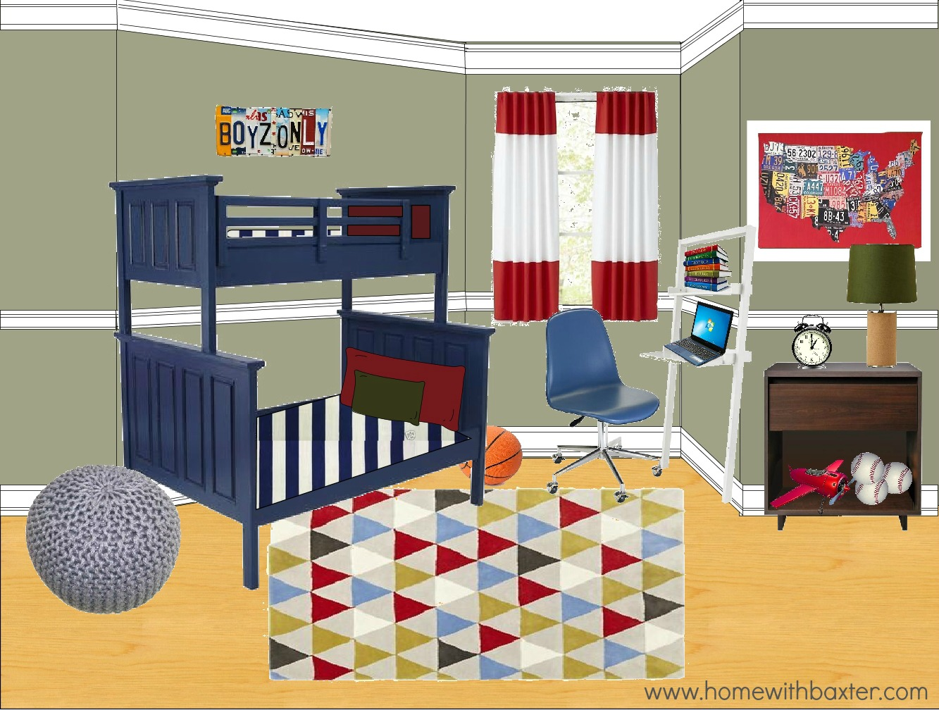 Gender Neutral Kids Bedroom Ideas