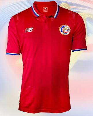Costa Rica Home kits 2016