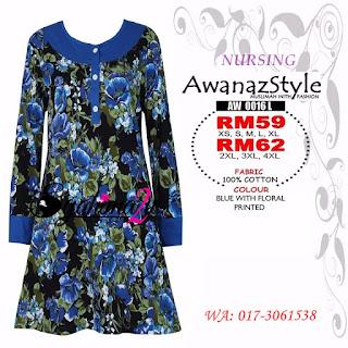 T-Shirt-Muslimah-Awanazstyle-AW0016L