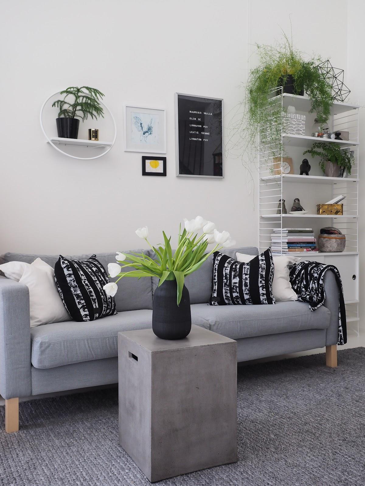 olohuone, sisustus, Lumo, sohva
