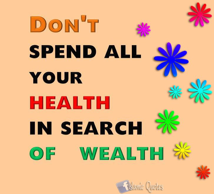 The Irish Spoke The Truth ; Health is better than Wealth !