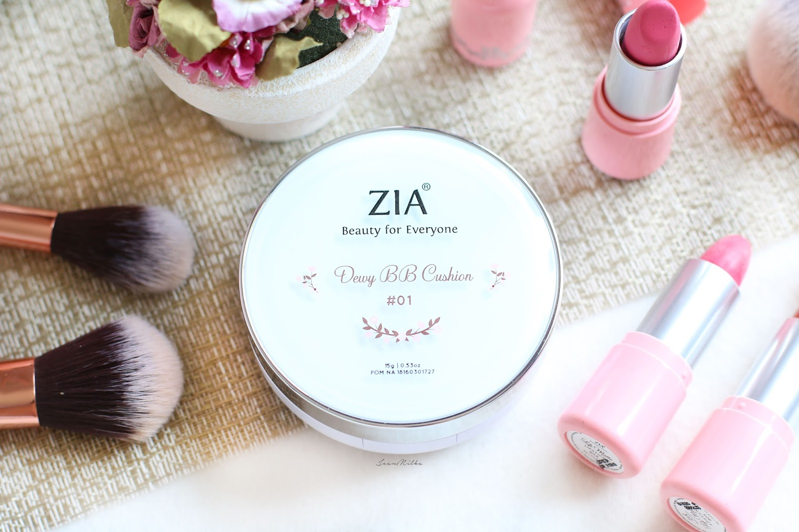 zia, zia skincare, makeup, beauty, produk indonesia, makeup indonesia, produk lokal, review, bb cushion, cushion