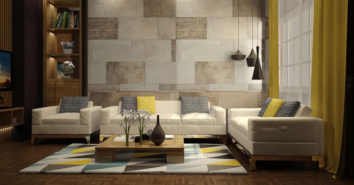 49 Motif Keramik Dinding Ruang Tamu Terbaru Percantik Ruangan