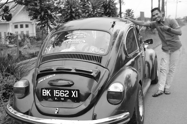 Black and White Photography, Otomotif Photography, VW Indocar,