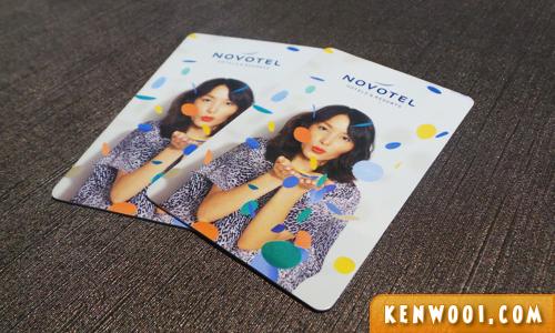 novotel hotel card