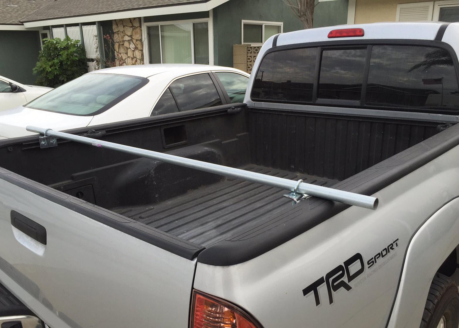 WA6PZB: DIY Tacoma Bed Rack