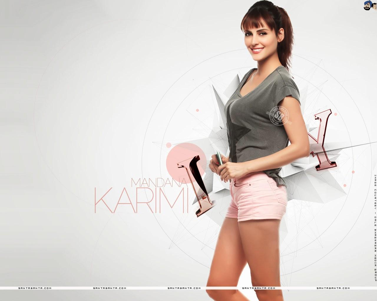 Mandana Karimi Sexy Legs