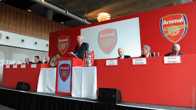 Pictures From Arsenal's Annual General Meeting