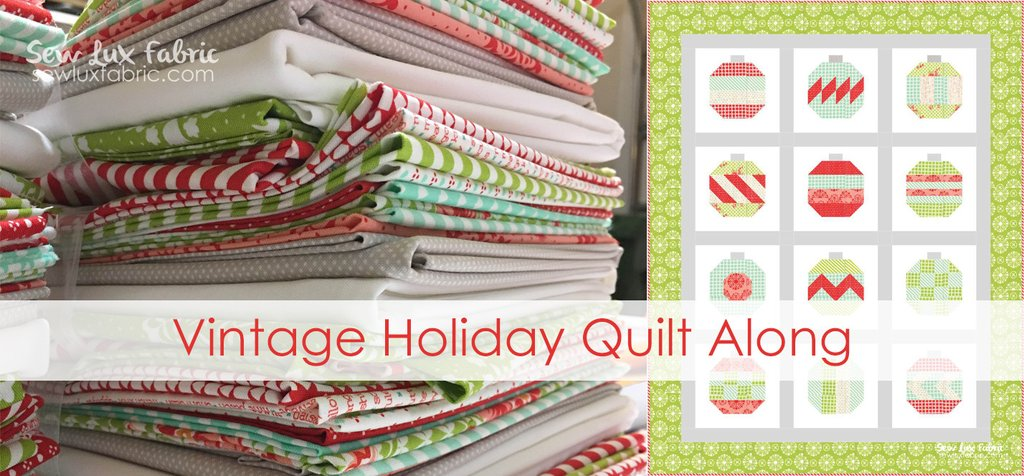 Sew Lux Fabric : Blog: Holiday Sewing : A QAL and a ...