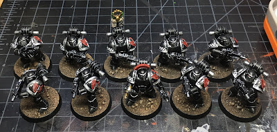First Legion Dark Angels Tactical Squad for Horus Heresy - Terrans