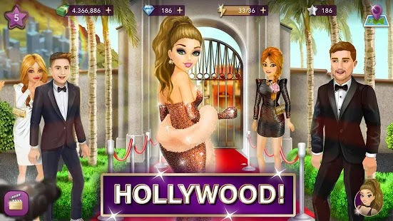 Hollywood Story Apk Mod Free on Android Game Download