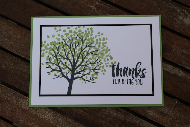 Suite Sayings, Stampin' Up! - Thanks For Being You