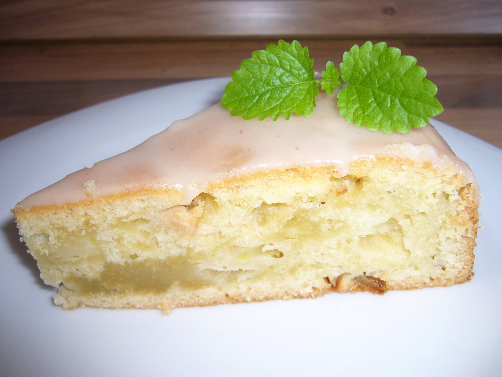 Homemade Steffi Apfel Eierlikor Kuchen