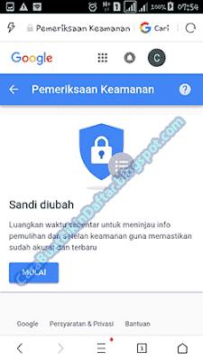 Cara Mengubah Kata Sandi Gmail