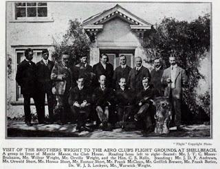 Fotografía pioneros de la aviación - Moore-Brabazon, hermanos Wright, Charles Rolls