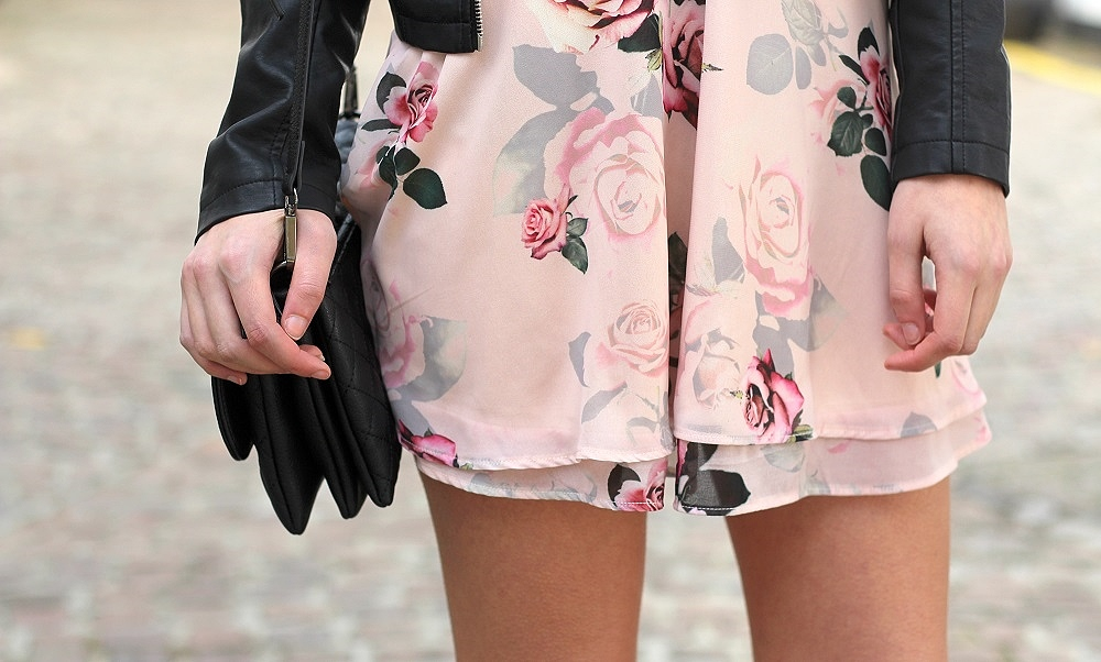 floral dress peexo fashion blogger uk style