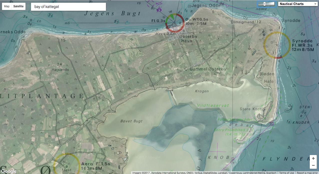 GeoGarage blog: Image of the week : Læsø island (DK)