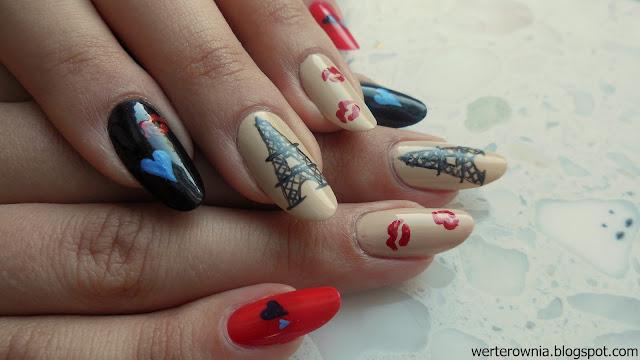 Zdobienie paznokci z Francji