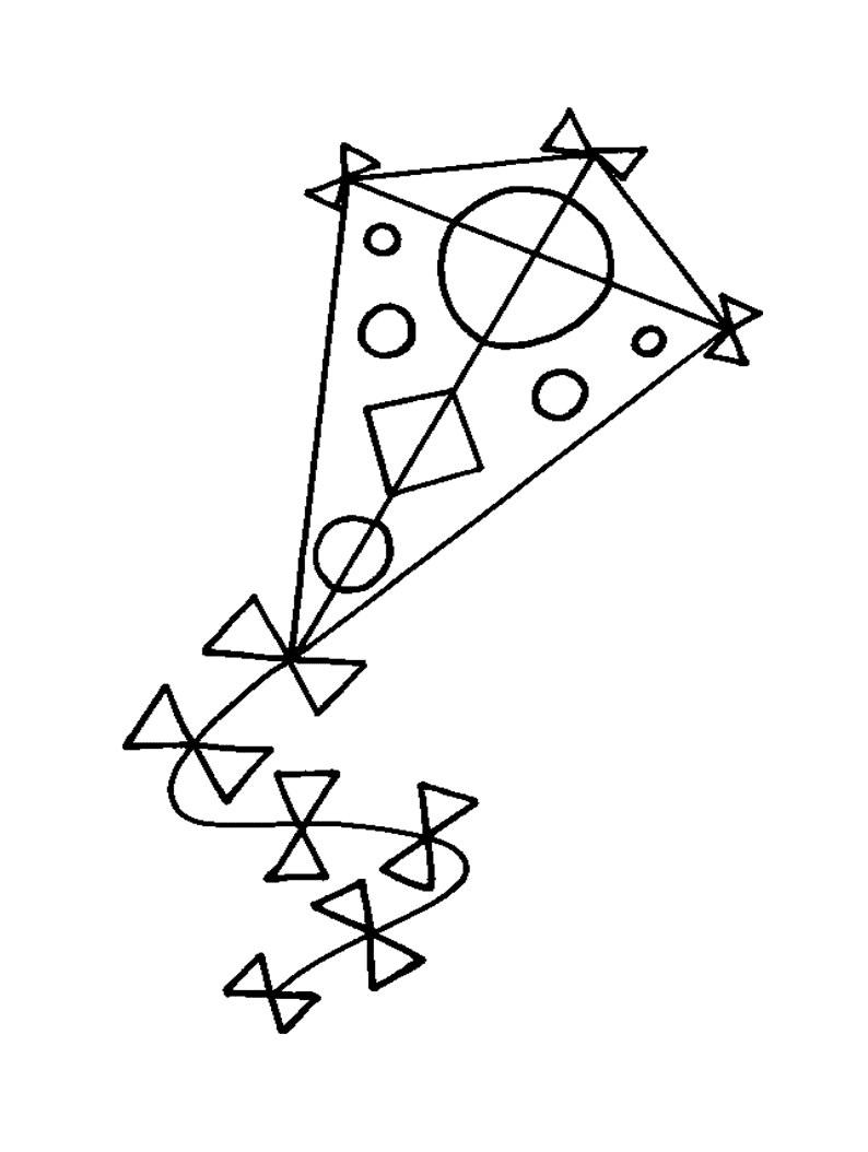 Gambar Mewarnai Layanglayang Untuk Anak Paud Dan Tk Mewarnai
