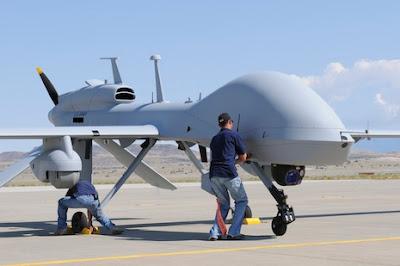 Drone de uso militar Puerto Vallarta