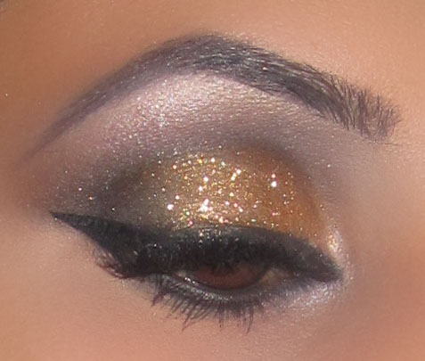 Beauty And The Blog Day Smokey Eyes To Bronze Glitter For