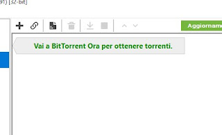 Apri torrent